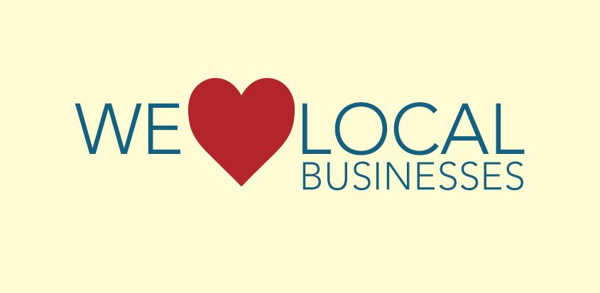 we heart local business