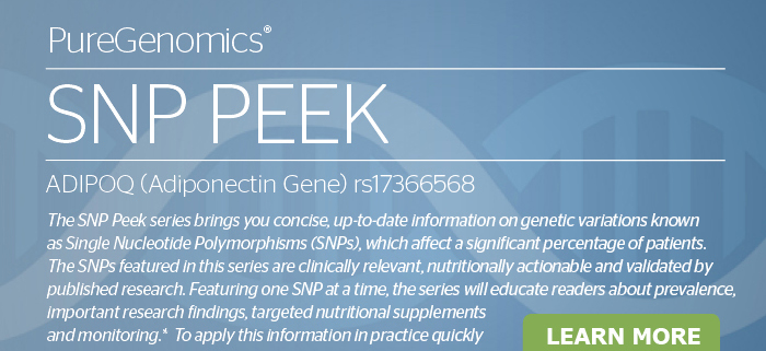 PureGenomics® SNP PEEK FTO<br>Learn More