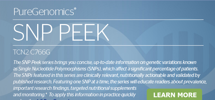 PureGenomics® SNP PEEK TCN2 C766G<br>Learn More