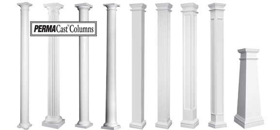 Hb g permacast columns home design collection for Hb g permacast columns
