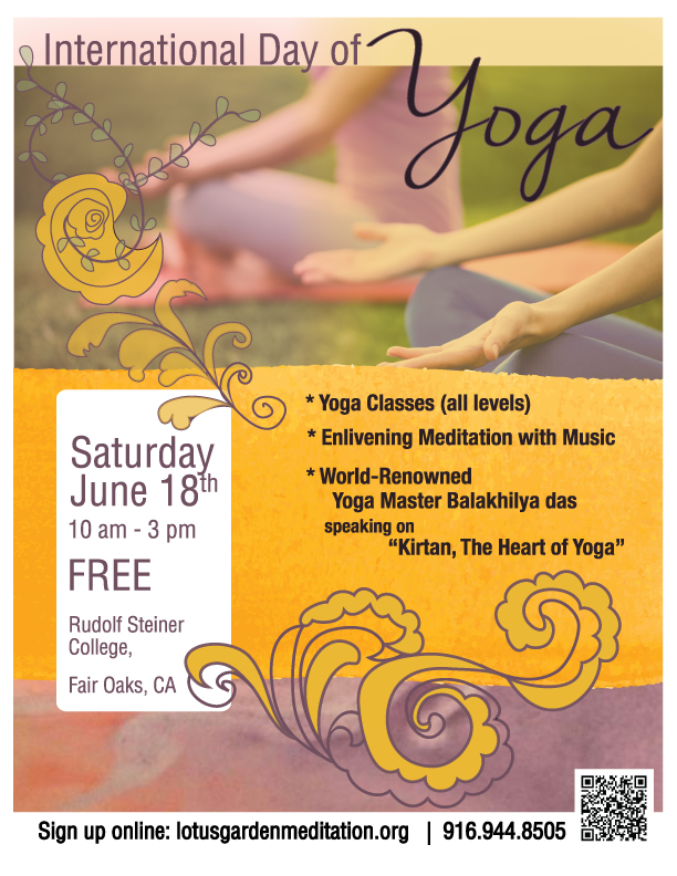 Celebrate International Day Of Yoga