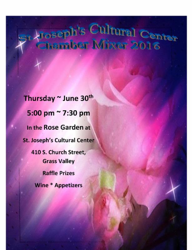 Chamber Mixer: Saint Joseph's Cultural Center @ Saint Joseph's Cultural Center | Grass Valley | California | United States
