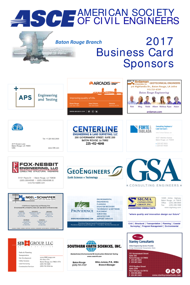 Home baton rouge branch for Business cards baton rouge