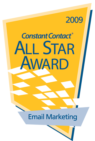Constant Contact All Star Award 2009
