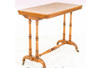 William IV Walnut Stretcher Table