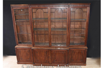 Large George III Breakfront Bookcase
