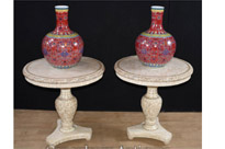 Pair Chinese Side Tables