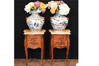 Pair Chinese Porcelain Vases - Qianlong China