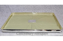 Silver Plate Shagreen Butlers Tray