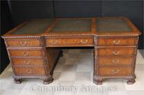 Walnut Regency Partnters Desk