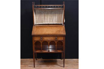 Antique Arts and Craft Walnut Bureau
