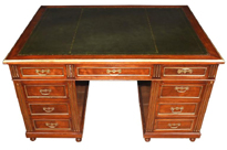 Antique French Napoleon III Partners Desk