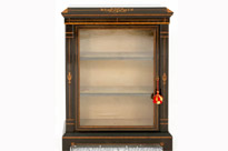 Arts and Craft Ebonised Pier Cabinet