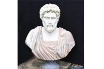Marble Bust Roman Emperor Antoninus Pius
