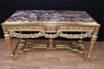 Louis XVI Gilt Console Table