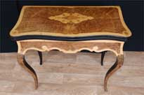 French Empire Card Table