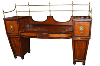 Antique Regency Satinwood Sideboard