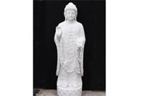 Giant Marble Tibetan Buddha Statue
