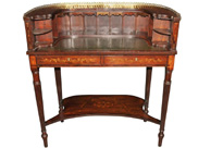 Regency Carlton House Desk Mahogany