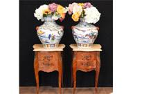 Pair Chinese Porcelain Vases - Qianlong