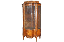 French Empire Antique Display Curio Cabinet