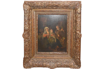 19th Century Antique Dutch Oil Painting