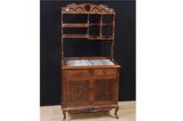 Antique Chinese Hardwood Dresser Circa 1850