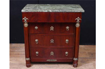 Period French Empire Mahogany Chest Drawers