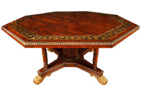 English Regency Octagonal Centre Table