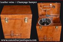 English Leather Hamper Champagne