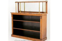 William IV Bookcase in Rosewood