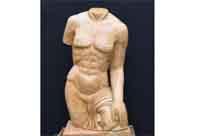 Classical Marble Torso Statue