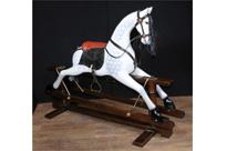 Dappled Grey Rocking Horse