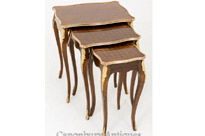 French Nest 3 Tables - Empire Side Table