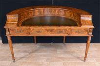 Regency Walnut Carlton House Desk