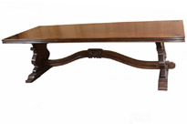 French Oak Farmhouse Dining Refectory Table
