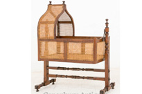 William IV Antique Crib Cot