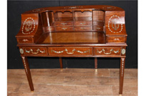 Mahogany Regency Carlton House Desk