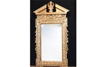 Tall Adams Gilt Pier Mirror