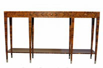 Art Deco Console Table Rosewood