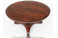 Antique William IV Rosewood Centre Table