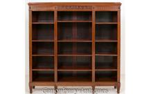 Mahogany Adams Open Front Bookcase
