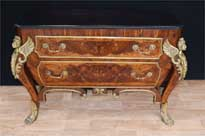 French Empire Kingwood Commode