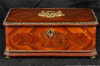 Antique French Empire Wooden Box