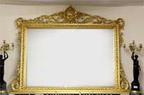 XL Regency Gilt Mantle Mirror