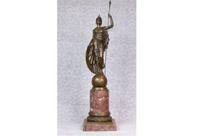 Large Bronze Statue Britannia Roman Briton