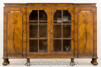 William and Mary Walnut Side Cabinet Buffet
