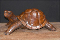 Hand Carved Giant Tortoise Statue