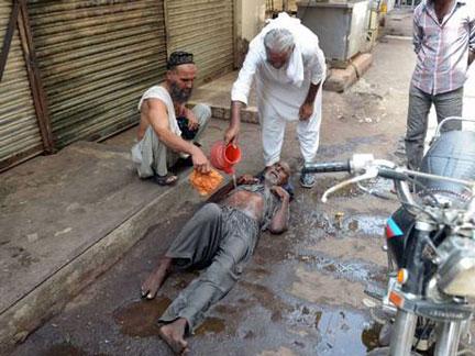 Pakistan heatwave