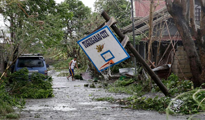 Phillipines floods